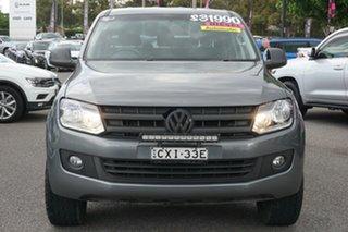 2015 Volkswagen Amarok 2H MY15 TDI420 4Motion Perm Trendline Grey 8 Speed Automatic Utility.