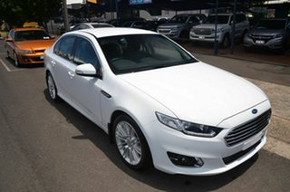 2015 Ford Falcon FG X G6E White 6 Speed Automatic Sedan.