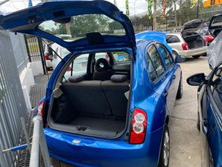 2009 Nissan Micra K12 Blue 4 Speed Automatic Hatchback.