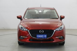 2017 Mazda 3 BN5478 Maxx SKYACTIV-Drive Soul Red 6 Speed Sports Automatic Hatchback.