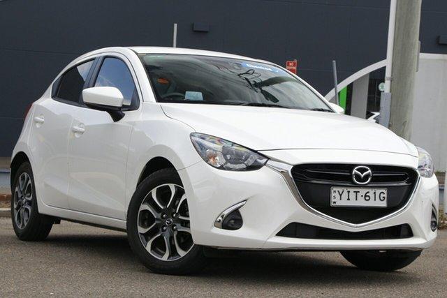 Used Mazda 2 DJ2HAA Genki SKYACTIV-Drive Parramatta, 2018 Mazda 2 DJ2HAA Genki SKYACTIV-Drive White 6 Speed Sports Automatic Hatchback