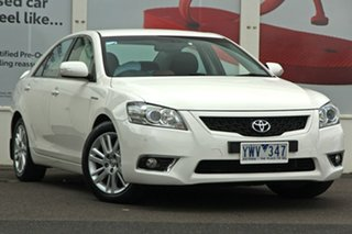2011 Toyota Aurion GSV40R MY10 Touring White 6 Speed Sports Automatic Sedan.