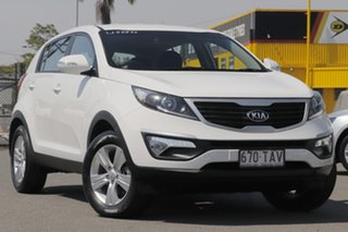 2013 Kia Sportage SL MY13 SI Clear White 5 Speed Manual Wagon.