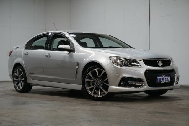 Used Holden Commodore VF MY15 SS V Welshpool, 2015 Holden Commodore VF MY15 SS V Silver 6 Speed Sports Automatic Sedan