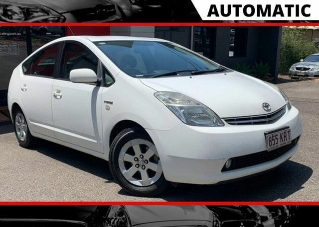Used Toyota Prius NHW20R I-Tech Ashmore, 2007 Toyota Prius NHW20R I-Tech White 1 Speed Constant Variable Liftback Hybrid