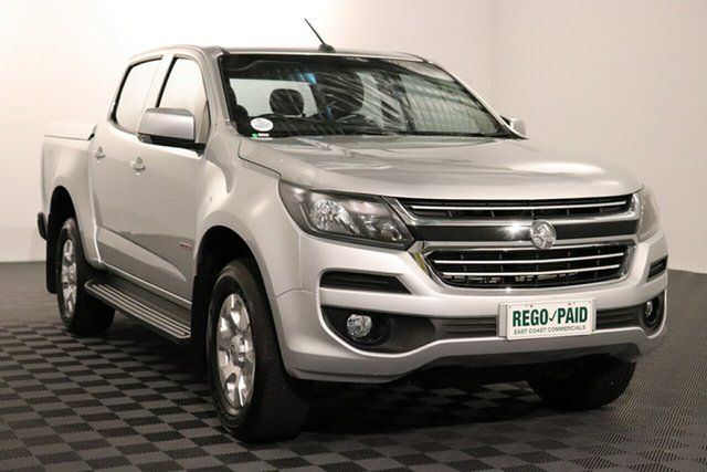 Used Holden Colorado RG MY16 LT Crew Cab Acacia Ridge, 2016 Holden Colorado RG MY16 LT Crew Cab Silver 6 speed Automatic Utility