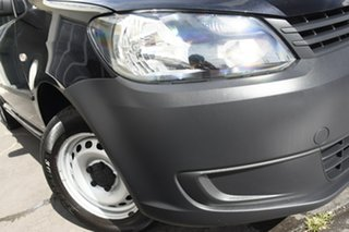 2015 Volkswagen Caddy 2KN MY15 TDI250 BlueMOTION Maxi DSG Black 7 Speed Sports Automatic Dual Clutch.