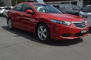 2011 Honda Accord Euro CU MY11 Red 5 Speed Automatic Sedan