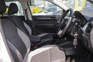 2016 Skoda Fabia NJ MY17 81TSI DSG Candy White 7 Speed Sports Automatic Dual Clutch Wagon