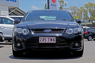 2013 Ford Falcon FG MkII XR6 Black 6 Speed Manual Sedan.