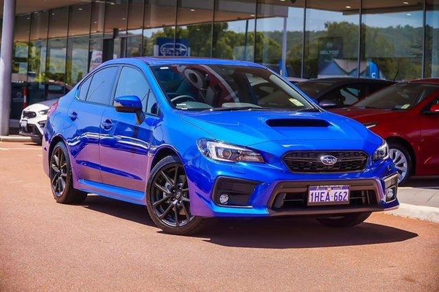 Demo Subaru WRX Premium Gosnells, 2020 Subaru WRX V1 Premium Blue Manual Sedan