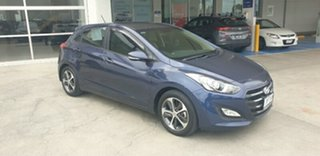 2016 Hyundai i30 GD4 Series II MY17 Active X Stargazing Blue 6 Speed Sports Automatic Hatchback.