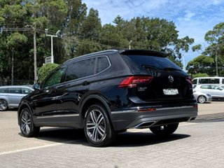 2020 Volkswagen Tiguan 5N MY20 162TSI Highline DSG 4MOTION Allspace Black 7 Speed