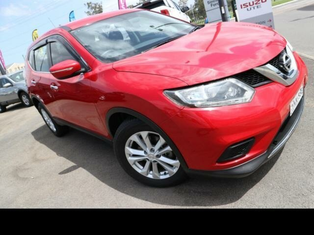 Used Nissan X-Trail T32 ST (FWD) Kingswood, 2015 Nissan X-Trail T32 ST (FWD) Red Continuous Variable Wagon