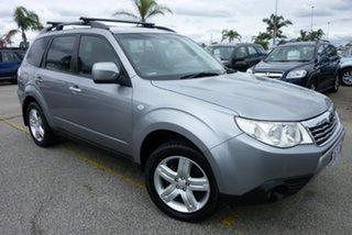 2009 Subaru Forester S3 MY10 XS AWD Silver 4 Speed Sports Automatic Wagon.