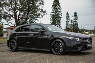 2019 Mercedes-Benz A-Class W177 800MY A35 AMG DCT 4MATIC Cosmos Black 7 Speed.
