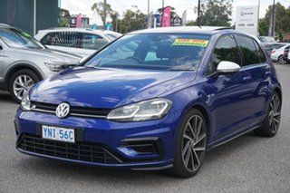 2019 Volkswagen Golf 7.5 MY19.5 R DSG 4MOTION Blue 7 Speed Sports Automatic Dual Clutch Hatchback
