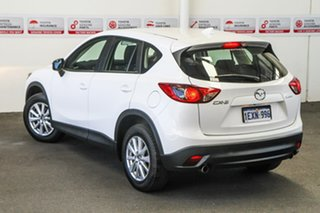 2015 Mazda CX-5 MY15 Maxx Sport (4x2) White 6 Speed Automatic Wagon.