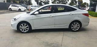 2017 Hyundai Accent RB6 MY18 Sport Chalk White 6 Speed Sports Automatic Sedan
