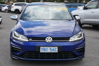 2019 Volkswagen Golf 7.5 MY19.5 R DSG 4MOTION Blue 7 Speed Sports Automatic Dual Clutch Hatchback.