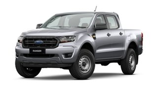 2020 Ford Ranger PX MkIII 2021.25MY XL Aluminium Silver 6 Speed Sports Automatic Double Cab Pick Up.