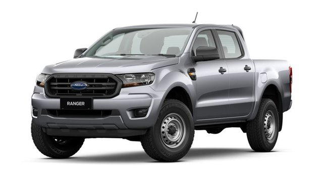New Ford Ranger PX MkIII 2021.25MY XL Townsville, 2020 Ford Ranger PX MkIII 2021.25MY XL Aluminium Silver 6 Speed Sports Automatic Double Cab Pick Up