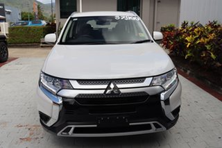 2020 Mitsubishi Outlander ZL MY20 ES AWD Starlight Black 6 Speed Constant Variable Wagon.