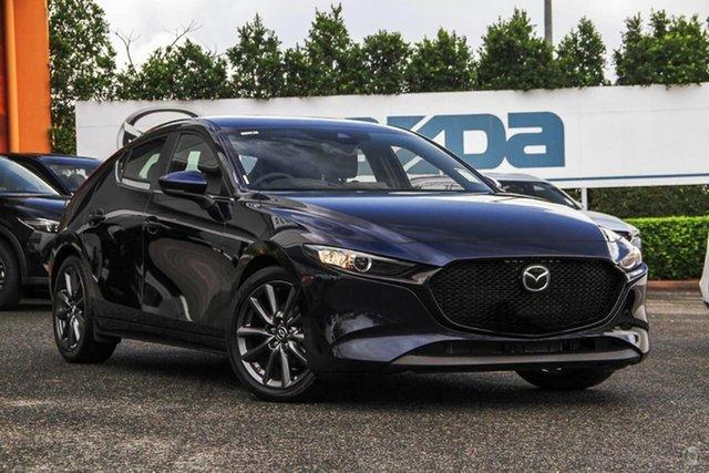 New Mazda 3 BP2H7A G20 SKYACTIV-Drive Evolve Waitara, 2020 Mazda 3 BP2H7A G20 SKYACTIV-Drive Evolve Blue 6 Speed Sports Automatic Hatchback