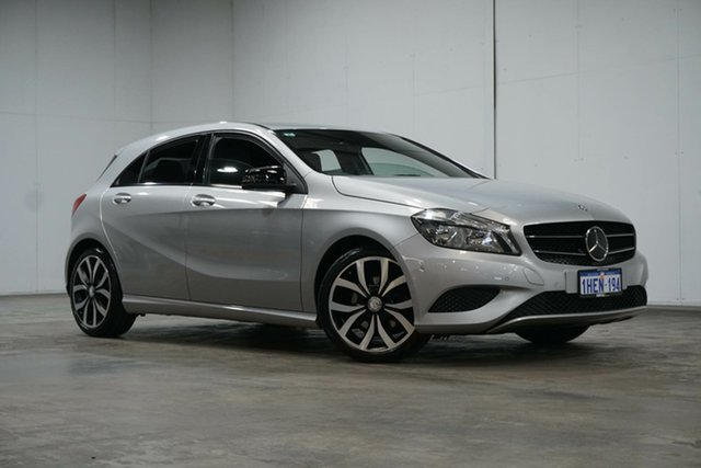 Used Mercedes-Benz A-Class W176 806MY A200 D-CT Welshpool, 2015 Mercedes-Benz A-Class W176 806MY A200 D-CT Silver 7 Speed Sports Automatic Dual Clutch