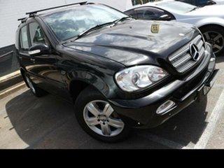2004 Mercedes-Benz ML270 CDI W163 4x4 Black 5 Speed Auto Tipshift Wagon.