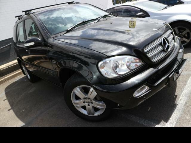 Used Mercedes-Benz ML270 CDI W163 4x4 Kingswood, 2004 Mercedes-Benz ML270 CDI W163 4x4 Black 5 Speed Auto Tipshift Wagon