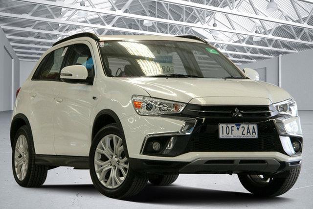 Used Mitsubishi ASX XC MY19 ES ADAS ( 2WD) Altona North, 2018 Mitsubishi ASX XC MY19 ES ADAS ( 2WD) White Continuous Variable Wagon
