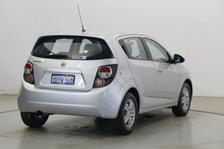 2012 Holden Barina TM Silver 5 Speed Manual Hatchback