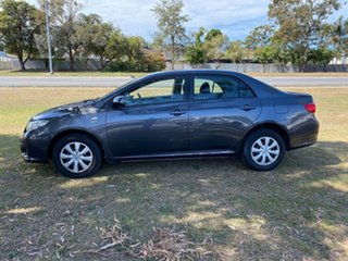 2009 Toyota Corolla ZRE152R Ascent Grey 4 Speed Automatic Sedan.