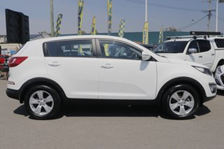 2013 Kia Sportage SL MY13 SI Clear White 5 Speed Manual Wagon