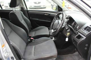 2011 Suzuki Swift FZ GLX Silver 4 Speed Automatic Hatchback