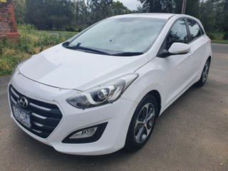 2015 Hyundai i30 GD3 Series II Active X White Sports Automatic Hatchback.