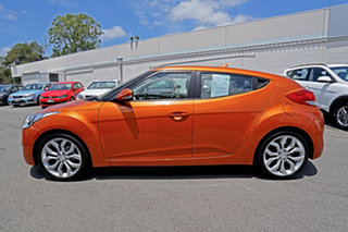 2011 Hyundai Veloster FS Coupe D-CT Orange 6 Speed Sports Automatic Dual Clutch Hatchback
