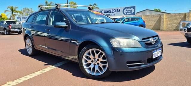 Used Holden Commodore VE MY09 60th Anniversary Sportwagon East Bunbury, 2008 Holden Commodore VE MY09 60th Anniversary Sportwagon Blue 4 Speed Automatic Wagon