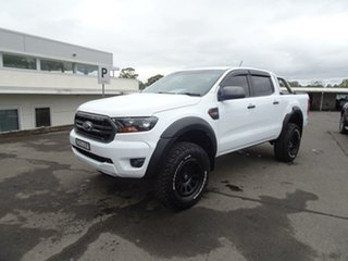 2018 Ford Ranger PX MKIII 2019.0 XLS White 6 Speed Sports Automatic Utility.