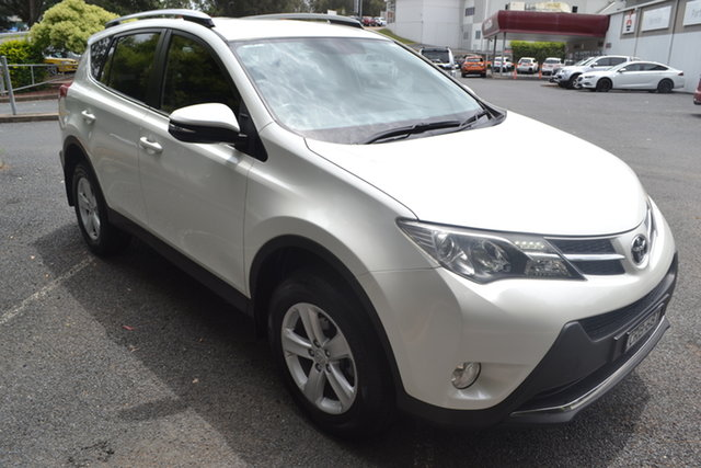 Used Toyota RAV4 ZSA42R GXL 2WD Maitland, 2013 Toyota RAV4 ZSA42R GXL 2WD White 7 Speed Constant Variable Wagon