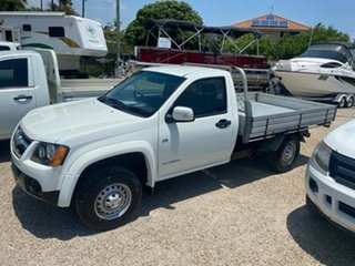 2010 Holden Colorado RC MY10 LX (4x2) White 4 Speed Automatic Cab Chassis