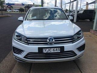 2017 Volkswagen Touareg 7P V8 TDI R-Line White Sports Automatic.