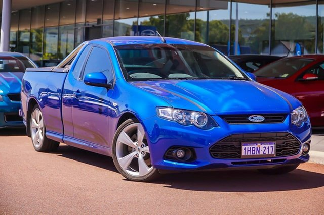 Used Ford Performance Vehicles GS FG Mk II Boss 315 Gosnells, 2014 Ford Performance Vehicles GS FG Mk II Boss 315 Blue 6 Speed Sports Automatic Utility