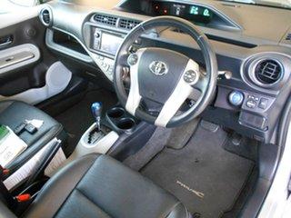2012 Toyota Prius c NHP10R i-Tech E-CVT Silver 1 Speed Constant Variable Hatchback Hybrid