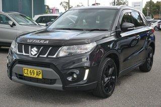 2016 Suzuki Vitara LY S Turbo 2WD Black 6 Speed Sports Automatic Wagon