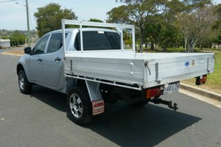 2008 Mitsubishi Triton ML MY09 GLX Double Cab 4x2 Silver 4 Speed Automatic Utility