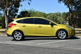 2011 Ford Focus LW Trend Yellow 5 Speed Manual Hatchback