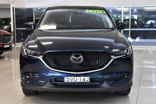 2018 Mazda CX-5 KF4W2A Akera SKYACTIV-Drive i-ACTIV AWD Blue 6 Speed Sports Automatic Wagon