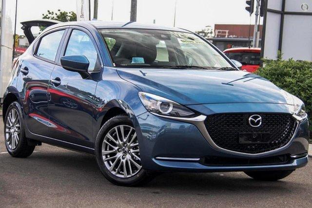 New Mazda 2 DJ2HAA G15 SKYACTIV-Drive Evolve Waitara, 2020 Mazda 2 DJ2HAA G15 SKYACTIV-Drive Evolve Blue 6 Speed Sports Automatic Hatchback